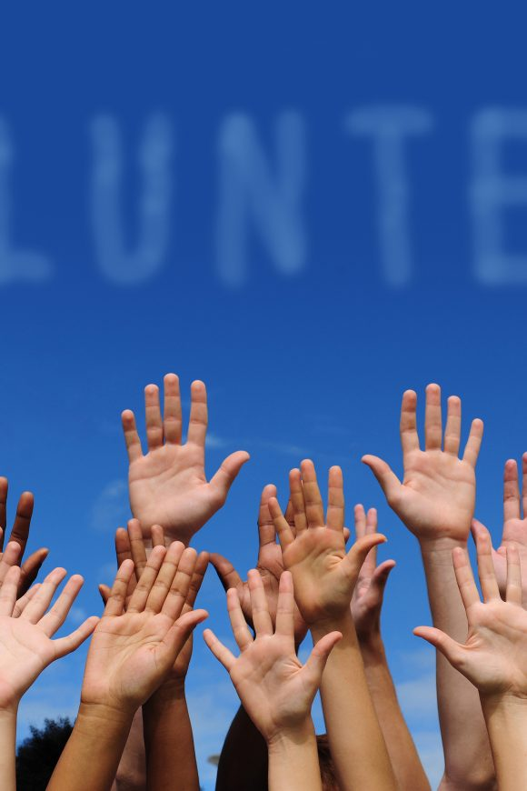 Thumbnail for the Volunteers page.